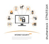 internet security and crime... | Shutterstock .eps vector #379655164