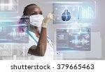 medicine doctor working with...   Shutterstock . vector #379665463