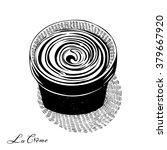 cosmetic cream in a pot ...   Shutterstock .eps vector #379667920