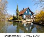 spreewald  brandenburg  | Shutterstock . vector #379671640