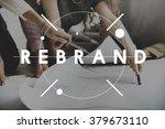 rebrand change identity... | Shutterstock . vector #379673110
