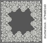 square lace frame. | Shutterstock .eps vector #379680160