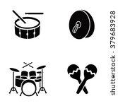 musical instruments vector icons | Shutterstock .eps vector #379683928