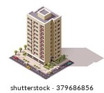 vector isometric icon or... | Shutterstock .eps vector #379686856
