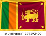back flag sri lanka | Shutterstock .eps vector #379692400