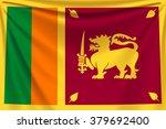 back flag sri lanka | Shutterstock .eps vector #379692400