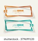 creative quotation mark speech... | Shutterstock .eps vector #379699120