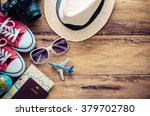 travel accessories and costume... | Shutterstock . vector #379702780