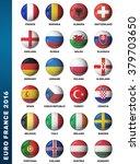 europe football 2016. set of... | Shutterstock . vector #379703650