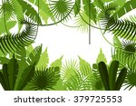 frame. jungle. vector... | Shutterstock .eps vector #379725553