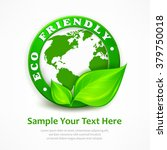 green earth concept  eco... | Shutterstock .eps vector #379750018