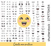emoticon creator. big... | Shutterstock .eps vector #379770454
