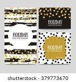 vector set of beautiful hand... | Shutterstock .eps vector #379773670