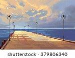 Bridge To The Sea Against...