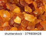 Closeup Baltic Amber Stones...