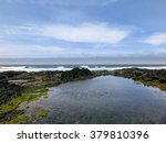 pacific ocean tide pool  ... | Shutterstock . vector #379810396