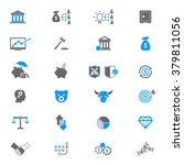 financial investment icon set  | Shutterstock .eps vector #379811056