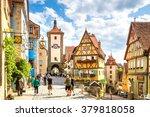 rothenburg ob der tauber    Shutterstock . vector #379818058