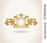 vintage crest decorative... | Shutterstock .eps vector #379820038