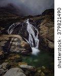 Mountain Waterfall In Southern...