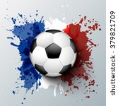 euro 2016 france football... | Shutterstock .eps vector #379821709