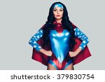 she can fight crime anywhere.... | Shutterstock . vector #379830754