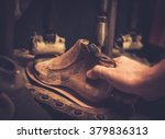 vintage shoe insole forming... | Shutterstock . vector #379836313