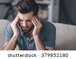 feeling stressed. frustrated... | Shutterstock . vector #379852180