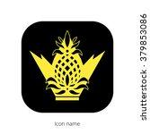 icon royal pineapple icon...