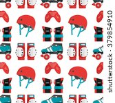 vector seamless pattern with... | Shutterstock .eps vector #379854910