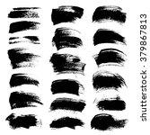 abstract big black textured... | Shutterstock .eps vector #379867813
