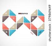 infographic design vector... | Shutterstock .eps vector #379869649