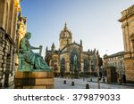 street view of the historic... | Shutterstock . vector #379879033