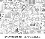 vector hand drawn business... | Shutterstock .eps vector #379883668
