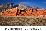 the red rock canyon national... | Shutterstock . vector #379886134