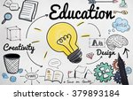 education knowledge studying... | Shutterstock . vector #379893184