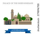 palace of shirvanshahs in... | Shutterstock .eps vector #379896700