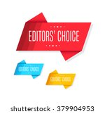 editors' choice tags | Shutterstock .eps vector #379904953