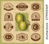 Vintage Apple Stamps Set....