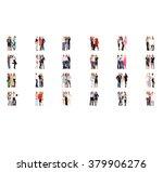 standing together together we... | Shutterstock . vector #379906276