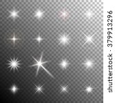 collection of glittering stars... | Shutterstock .eps vector #379913296