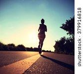 young fitness woman runner... | Shutterstock . vector #379916818
