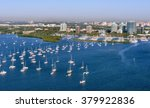 aerial view of coconut grove...