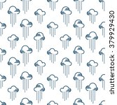 seamless pattern clouds and... | Shutterstock .eps vector #379929430