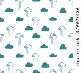 seamless pattern clouds and... | Shutterstock .eps vector #379929436