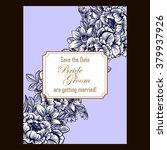 romantic invitation. wedding ...   Shutterstock . vector #379937926