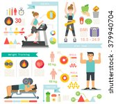 burn fat and lose weight | Shutterstock .eps vector #379940704