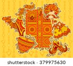 vector design of culture of... | Shutterstock .eps vector #379975630
