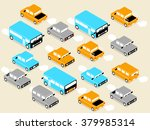 beautiful isometric design of... | Shutterstock .eps vector #379985314