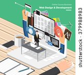 isometric flat design concepts... | Shutterstock .eps vector #379988983